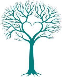 Family Tree With Birds 3 Clipart.