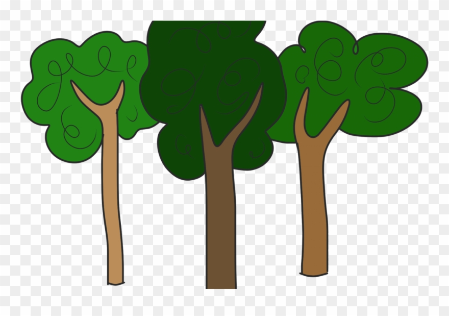 Clipart Trees Forest.