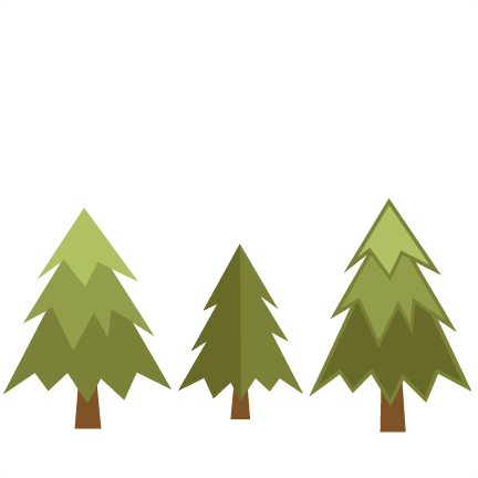 Pine tree christmas svg on trees clip art and 3.