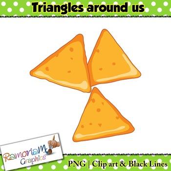 Shapes 2D Triangles Clip art.