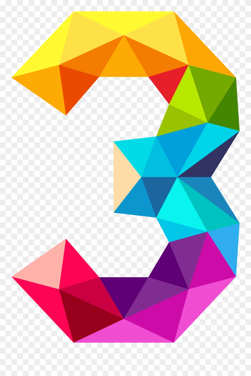 Clipart Images, Triangles, Numbers, Clip Art, Third.