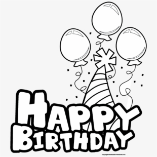 PNG Happy Birthday Cliparts & Cartoons Free Download.