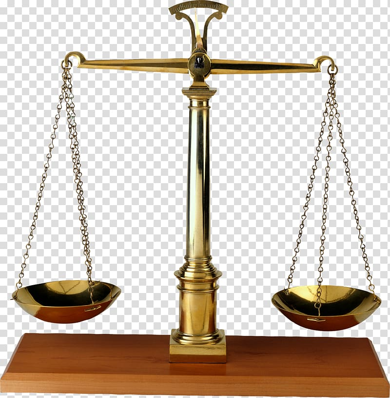 Gold beam balance scale, Lady Justice Weighing scale , The.