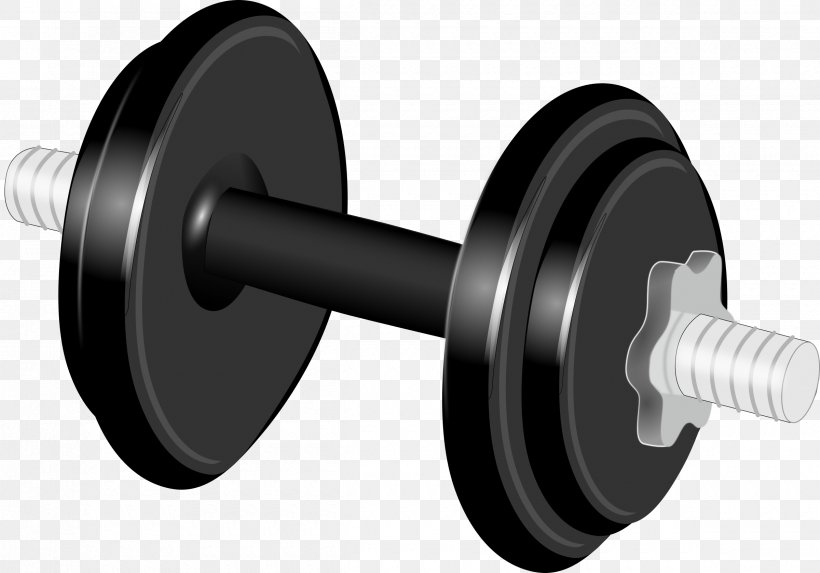 Dumbbell Physical Exercise Weight Training Clip Art, PNG.