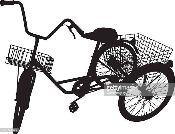 World's Best Bicycle Basket Stock Illustrations.