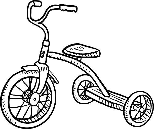 Three Wheel Clipart.