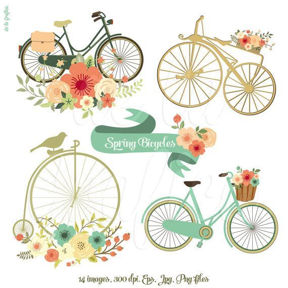 Floral Banners 3 Clip Art Clipart. Digital Banners by.