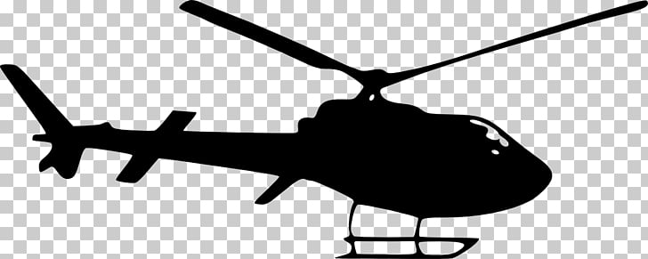 Helicopter rotor Silhouette , helicopter top view PNG.