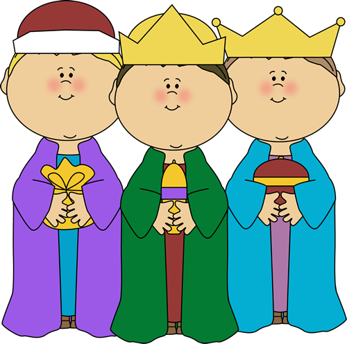 Three Wise Men Clip Art.