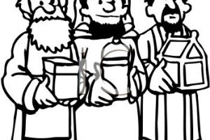 Wise men clipart 2 » Clipart Station.