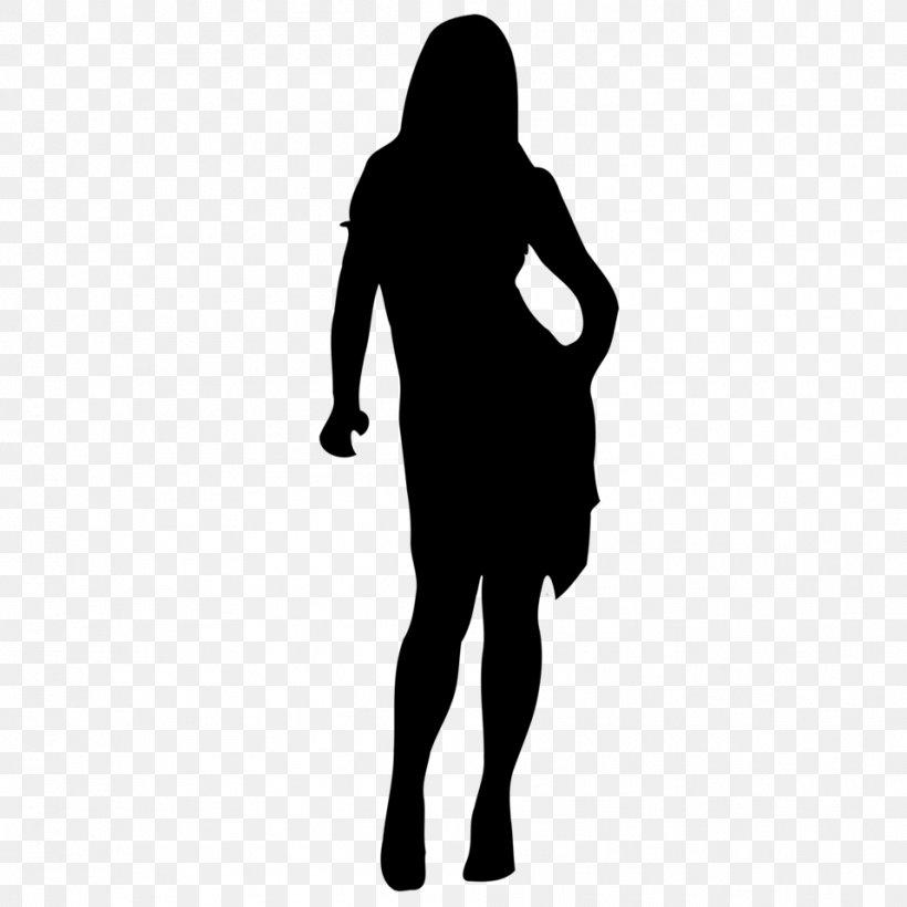 Woman Silhouette Clip Art, PNG, 958x958px, Woman, Arm, Black.