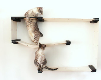 Unconventional Cat Furniture by CatastrophiCreations on Etsy.