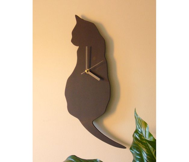 17 Best ideas about Cat Clock on Pinterest.