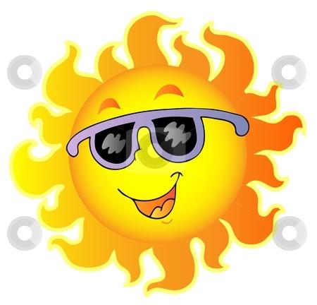 happy sun clip art.