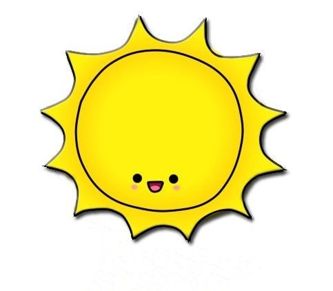 Sun clipart tattoo idea.