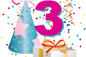 3 year old birthday clipart 6 » Clipart Station.