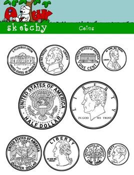 US Coin / Money Clipart.