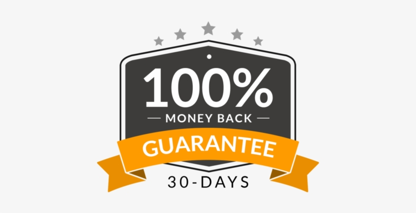 30 Days Money Back Guarantee.