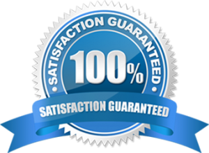 Satisfaction Guarantee.