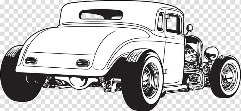 Hot Rod PNG clipart images free download.