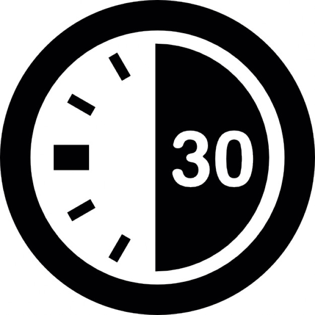 30 Second Timer Clipart.