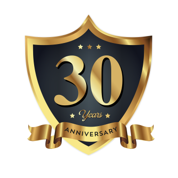 30th Anniversary PNG Images.