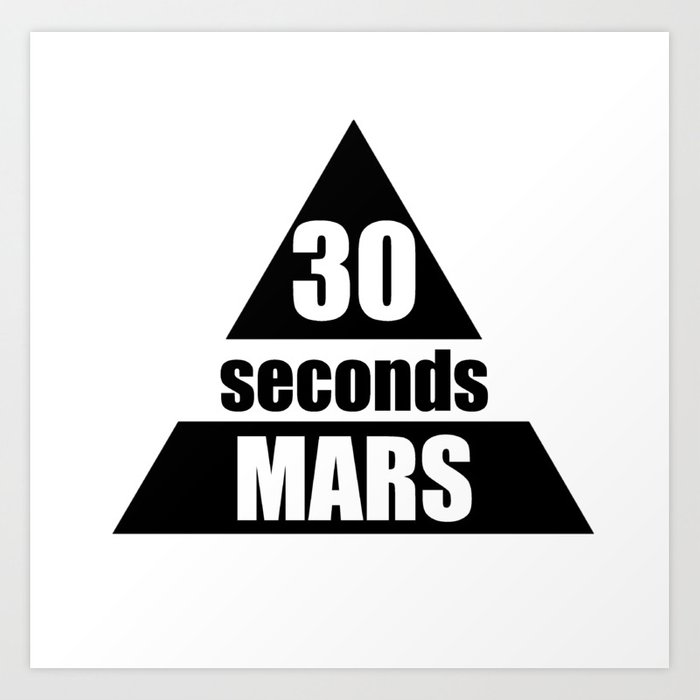 30 seconds to mars Art Print by justematieu.