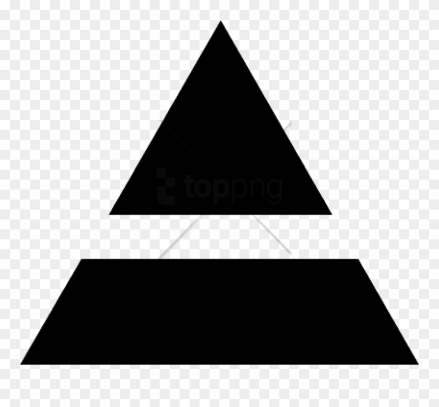 Free Png 30 Seconds To Mars Inverted Triad Png Image.