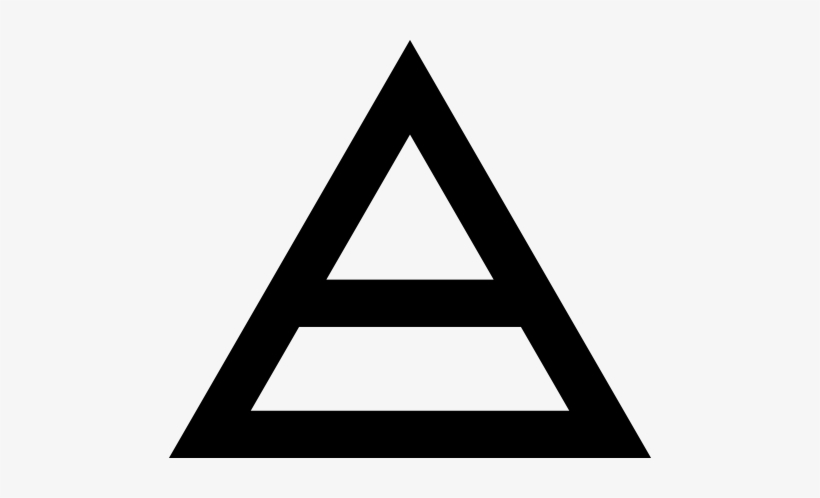 Download Free png 30 Seconds To Mars Triangle Logo Download.