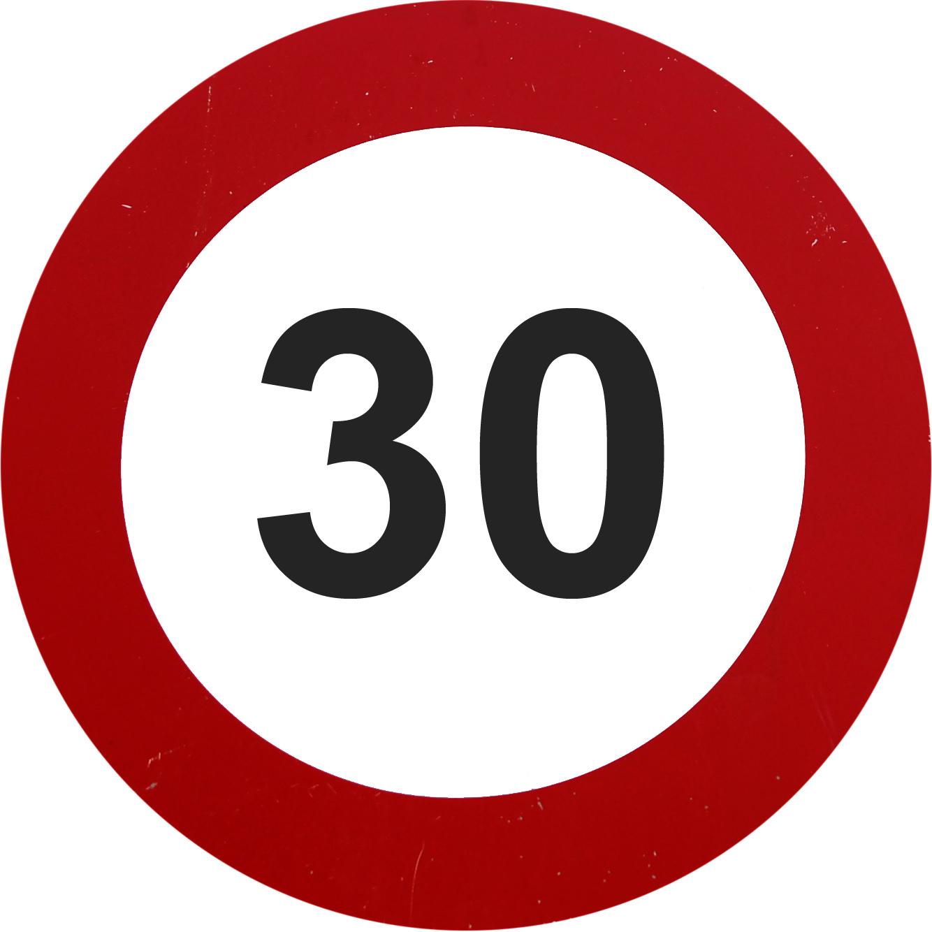 30 speed limit round sign download free textures.