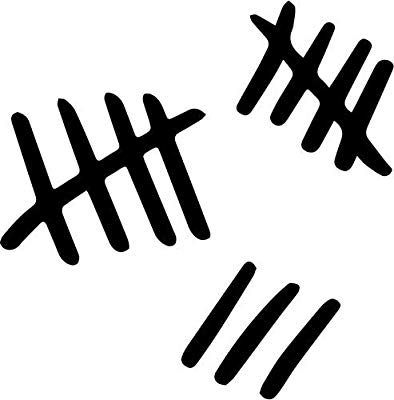 Amazon.com: Tally Marks Silence Vinyl Decal Sticker Bumper.