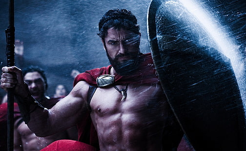 HD wallpaper: movies 300 movie spartan gerard butler.