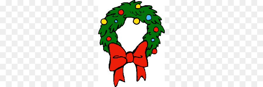 Christmas Wreath Garland Clip art.