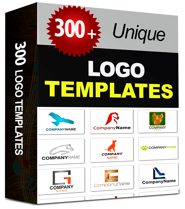 300 + Free Unique Logo Templates [with PSD Source Files].
