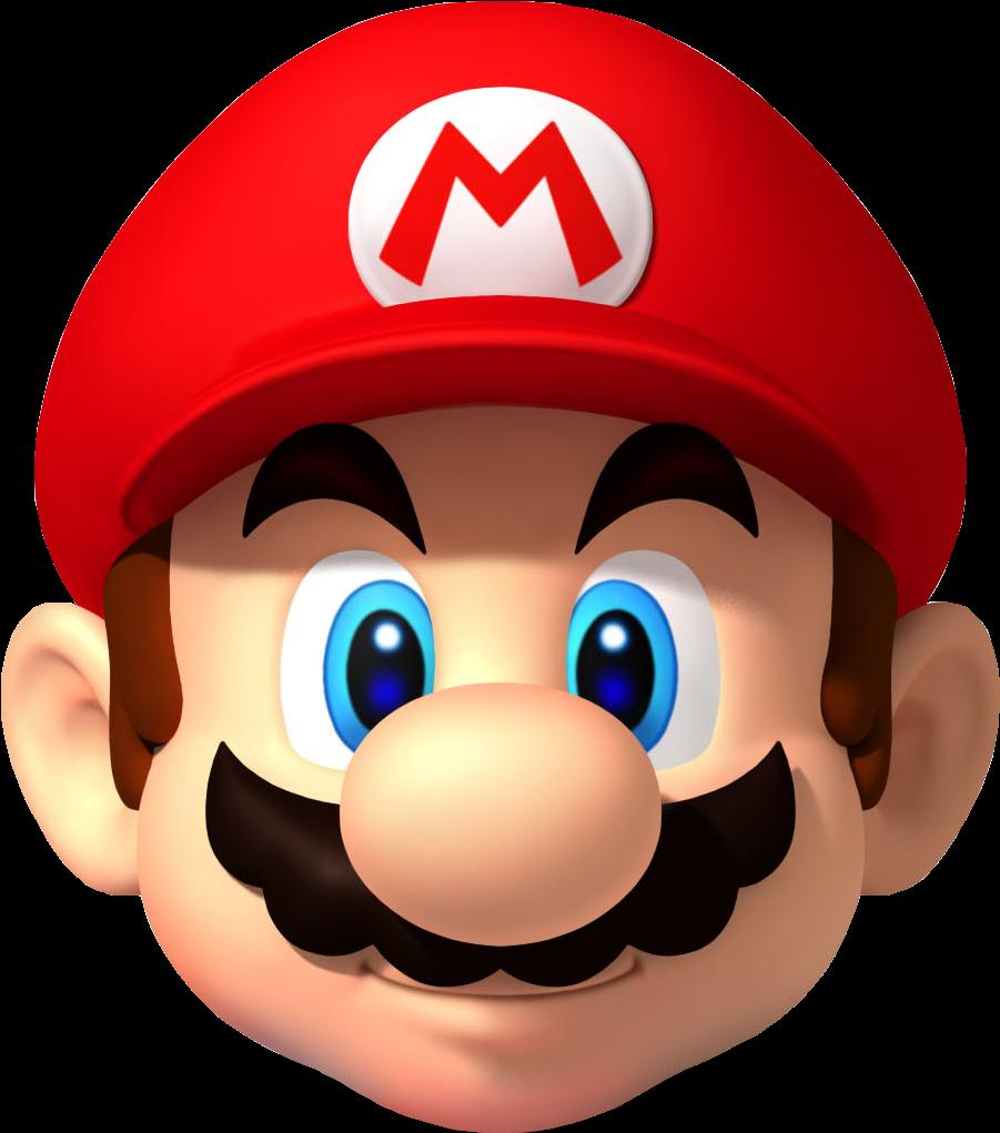 Mario Transparent Head Mario Head Clipart 3000 3000.