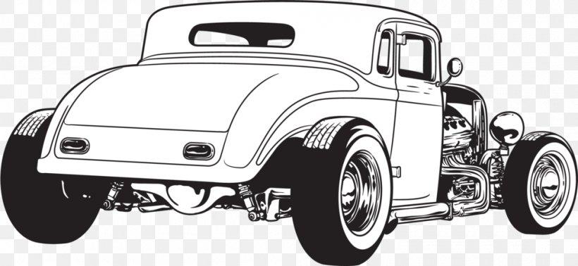 Car 1932 Ford Hot Rod Rat Rod Clip Art, PNG, 1000x461px.