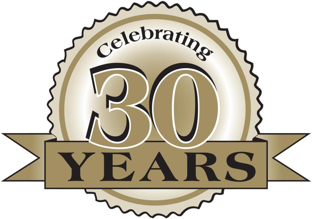 Anniversary clipart 30th.