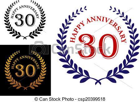 30th anniversary clipart 1 » Clipart Portal.