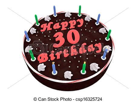 chocolate cake for 30th birthday.