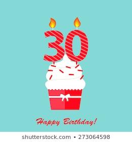 30th Birthday Images, Stock Photos & Vectors.