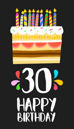 30th Birthday Stock Illustrations, Cliparts And Royalty Free 30th.