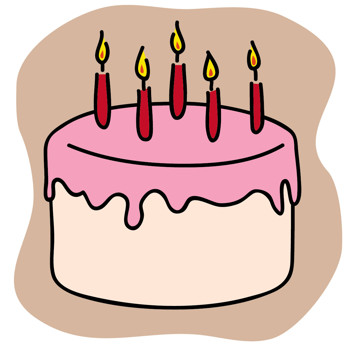 Clipart 30th Happy Birthday Clip Art Images Cake free image.