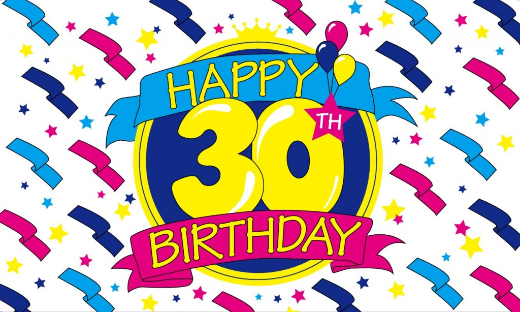 47+ 30th Birthday Clip Art.