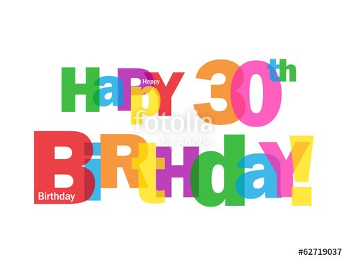 30th birthday clipart free 5 » Clipart Portal.