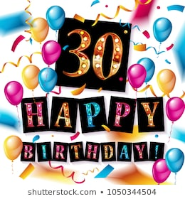 30th Birthday Clipart (104+ images in Collection) Page 2.
