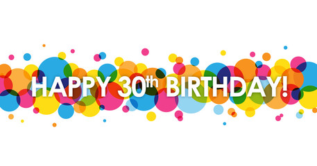 30th birthday clipart 5 » Clipart Station.
