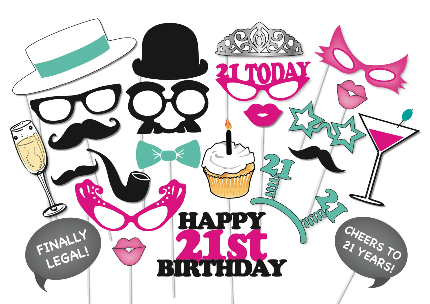 Free Printable Birthday Clipart at GetDrawings.com.