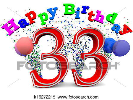30th Birthday Clipart 9.