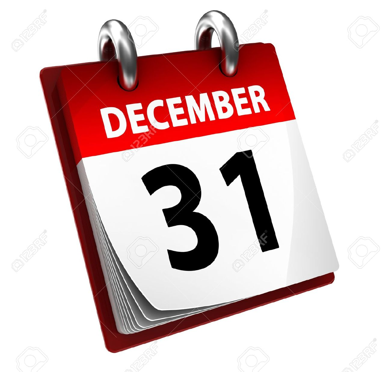 31 December Calendar Stock Photo, Picture And Royalty Free Image.