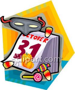 Calendar 31st clipart.